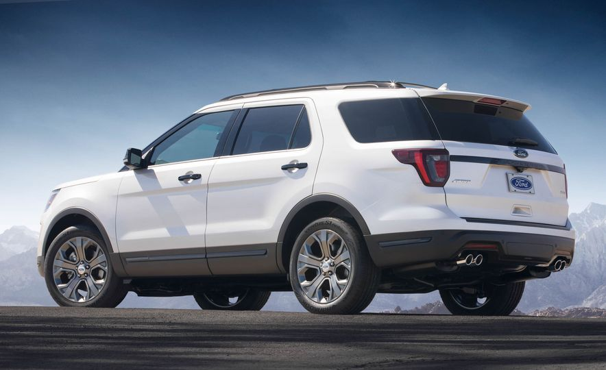2018 Ford Explorer - Slide 53