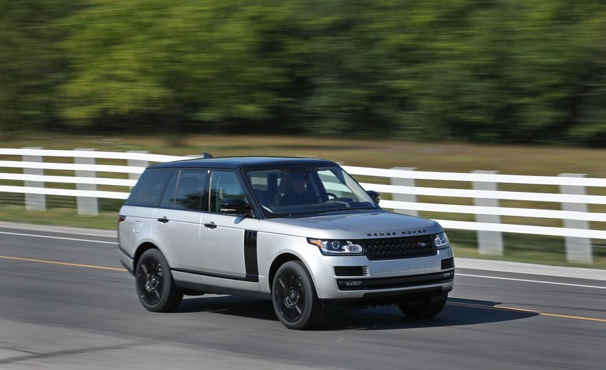 2017 Land Rover Range Rover Supercharged SWB - Slide 2