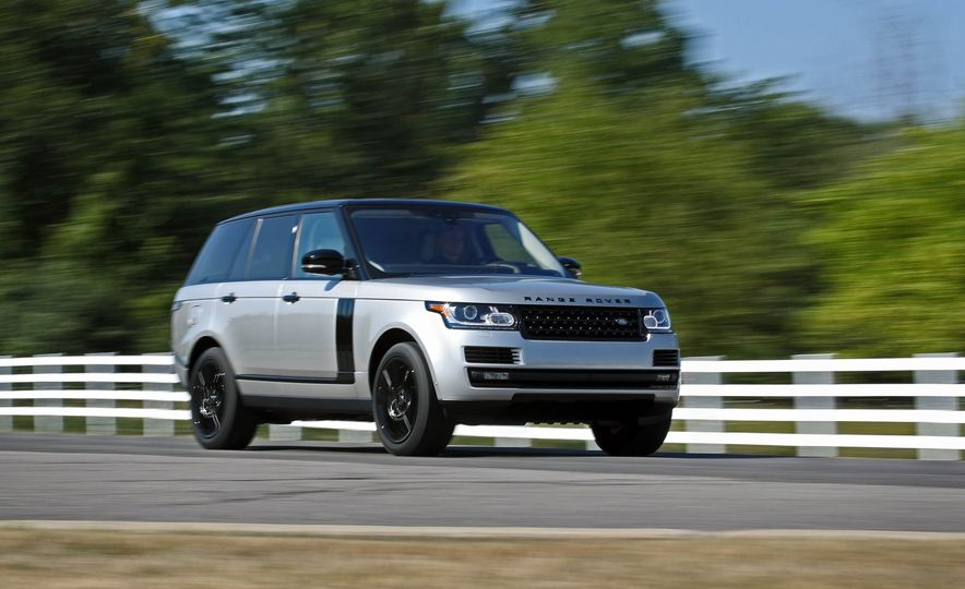 2017 Land Rover Range Rover Supercharged SWB - Slide 3