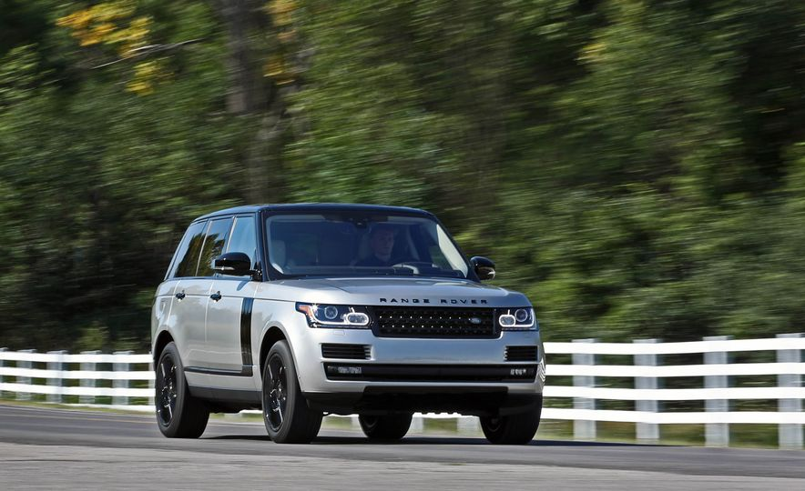 2017 Land Rover Range Rover Supercharged SWB - Slide 4