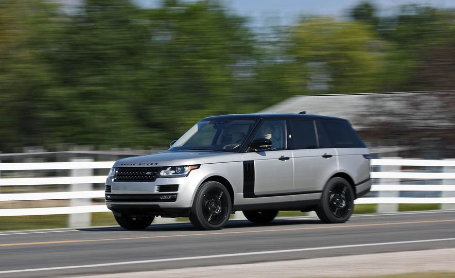 2017 Land Rover Range Rover Supercharged SWB - Slide 6