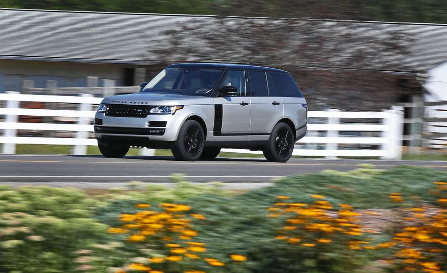 2017 Land Rover Range Rover Supercharged SWB - Slide 7