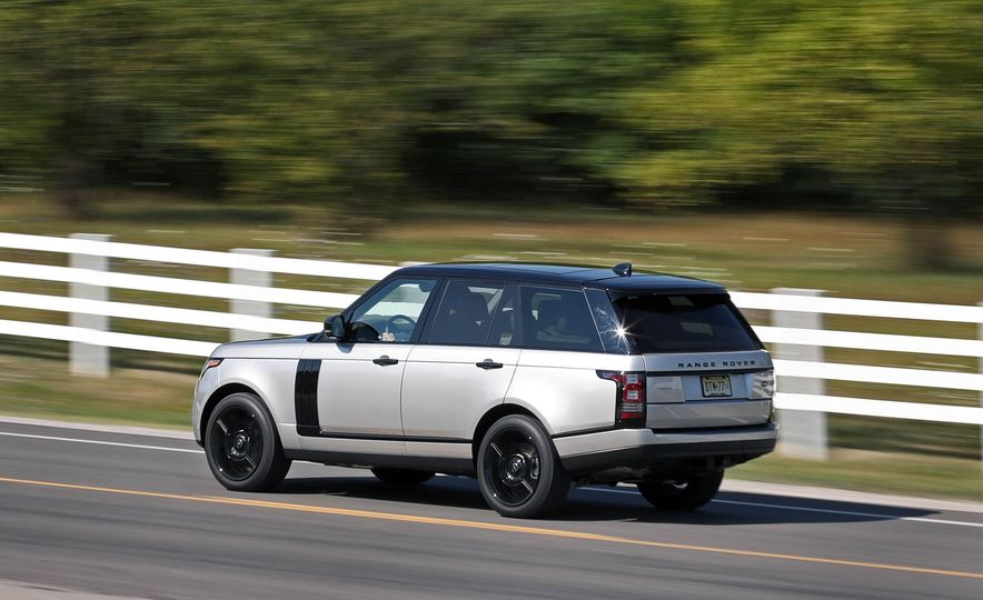 2017 Land Rover Range Rover Supercharged SWB - Slide 9