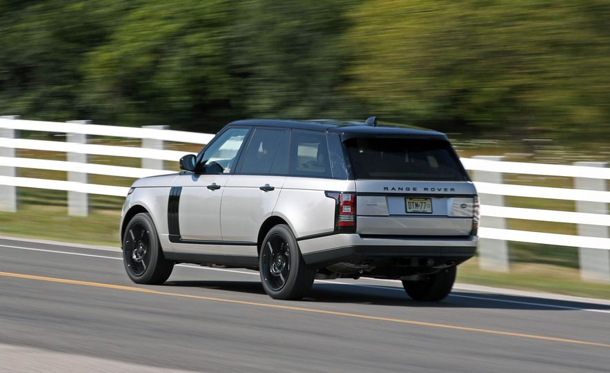 2017 Land Rover Range Rover Supercharged SWB - Slide 10