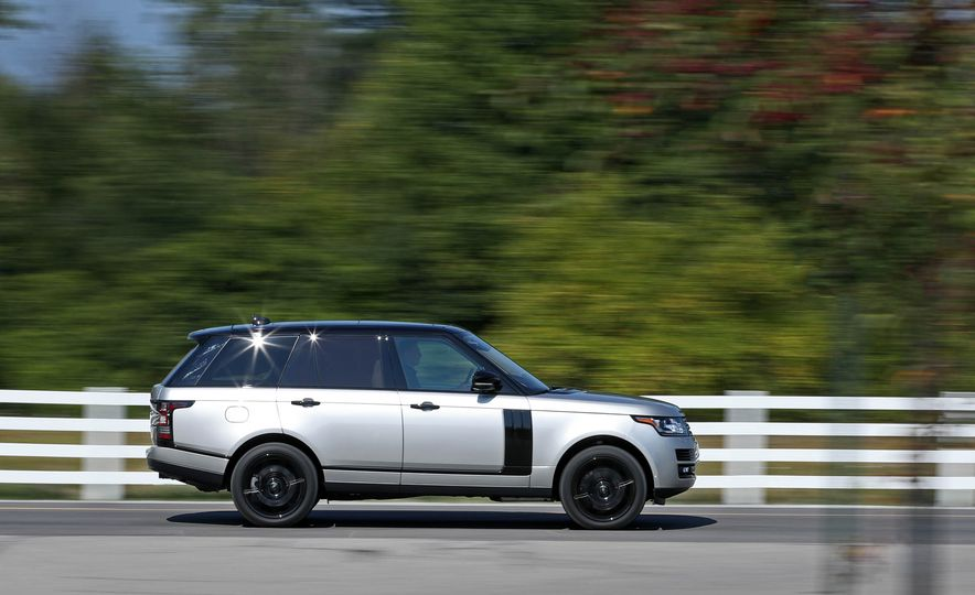2017 Land Rover Range Rover Supercharged SWB - Slide 14