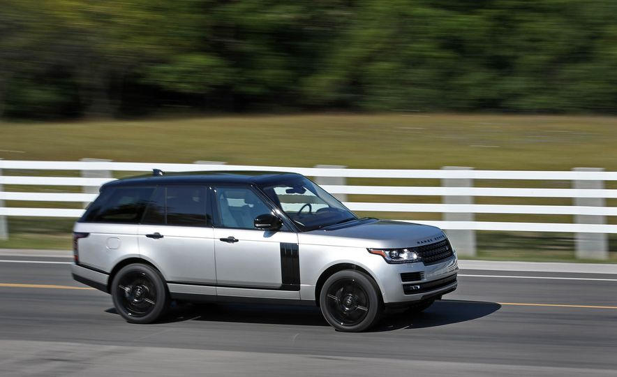 2017 Land Rover Range Rover Supercharged SWB - Slide 15