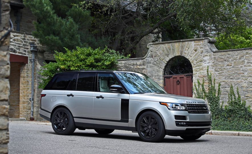 2017 Land Rover Range Rover Supercharged SWB - Slide 16