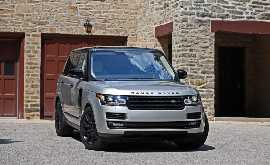 2017 Land Rover Range Rover Supercharged SWB - Slide 17