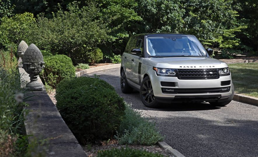2017 Land Rover Range Rover Supercharged SWB - Slide 18
