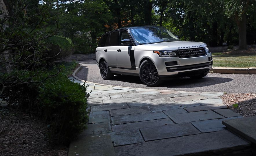 2017 Land Rover Range Rover Supercharged SWB - Slide 20