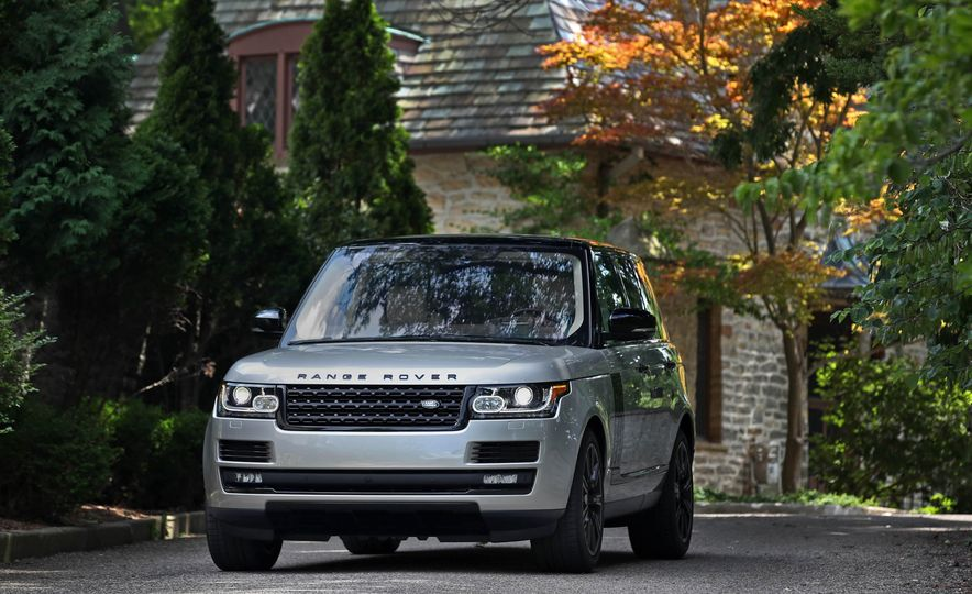 2017 Land Rover Range Rover Supercharged SWB - Slide 21
