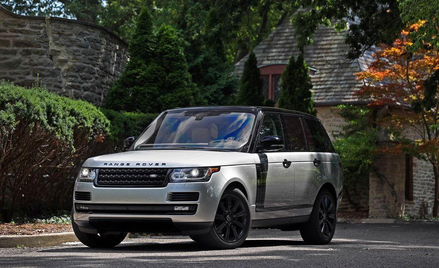2017 Land Rover Range Rover Supercharged SWB - Slide 22