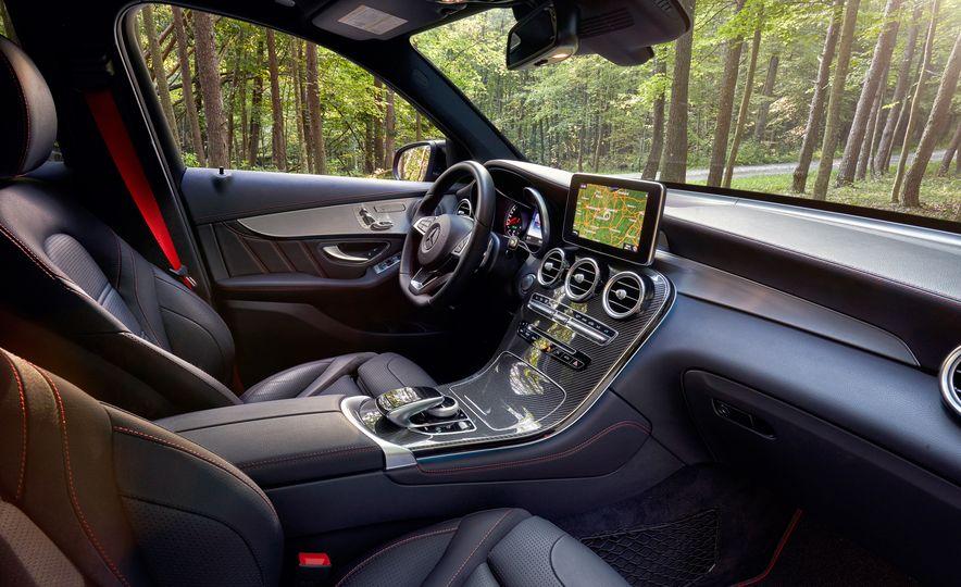 2017 Mercedes-AMG GLC43, 2018 Audi SQ5, and 2017 Porsche Macan S - Slide 23