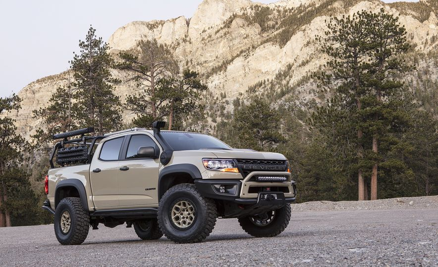 Chevrolet Colorado ZR2 AEV concept - Slide 7