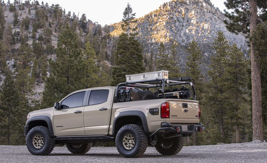 Chevrolet Colorado ZR2 AEV concept - Slide 8
