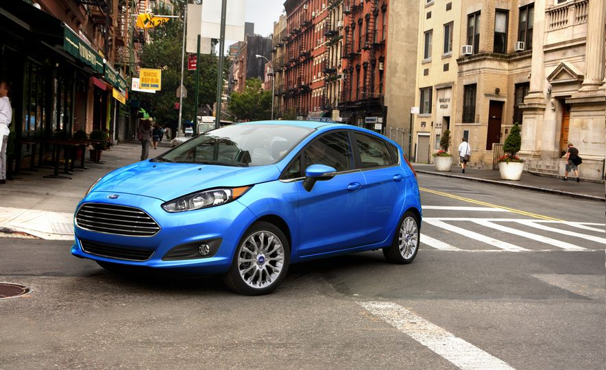 2017 Ford Fiesta Hatchback Automatic - Slide 1