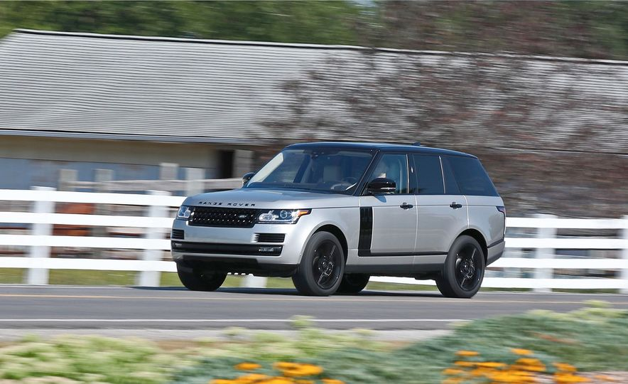 2017 Land Rover Range Rover Supercharged SWB - Slide 1