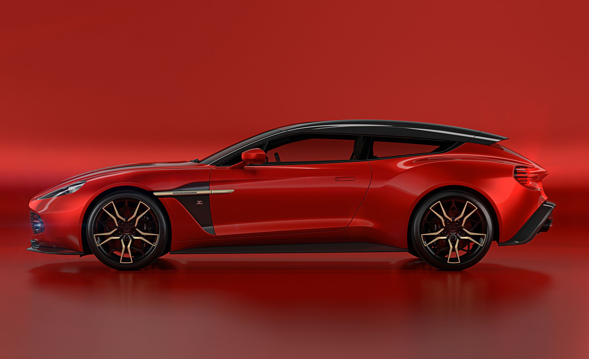 2018 Aston Martin Vanquish Zagato Shooting Brake Pictures   Photo Gallery