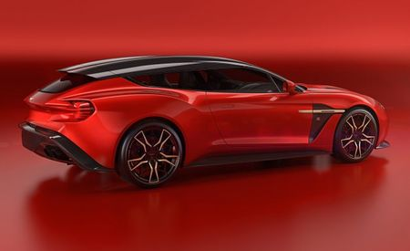 Zagato Builds an Aston Martin Vanquish Wagon, and We're in Love