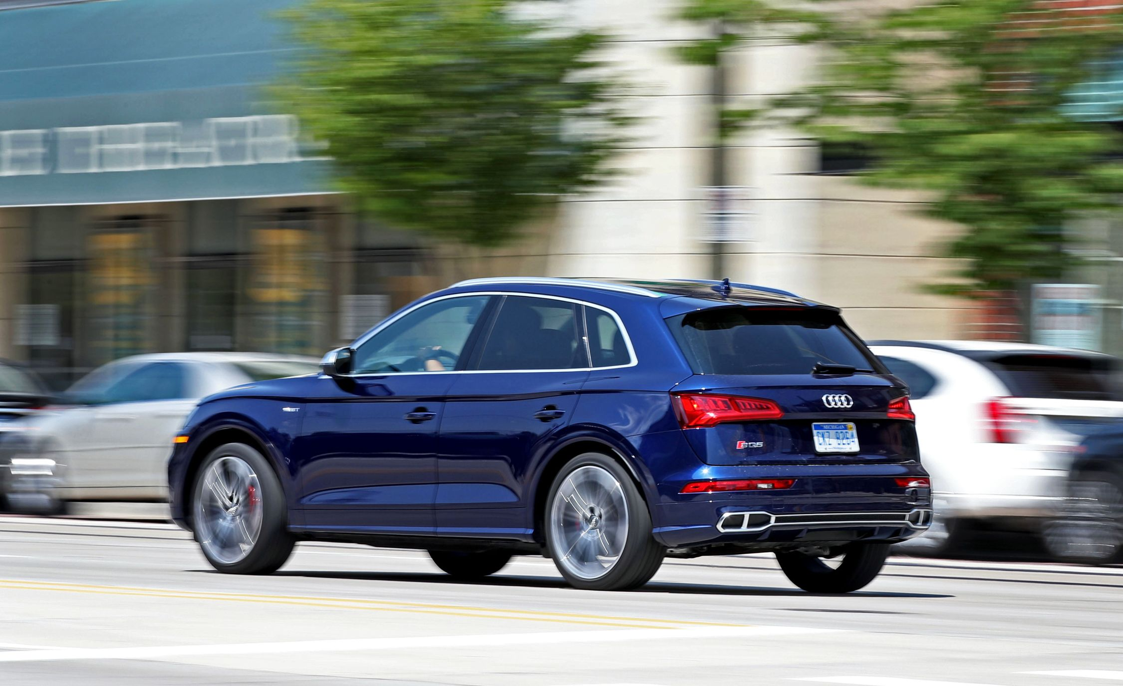 2019 Audi Sq5 Reviews Price Photos And Specs Car Driver