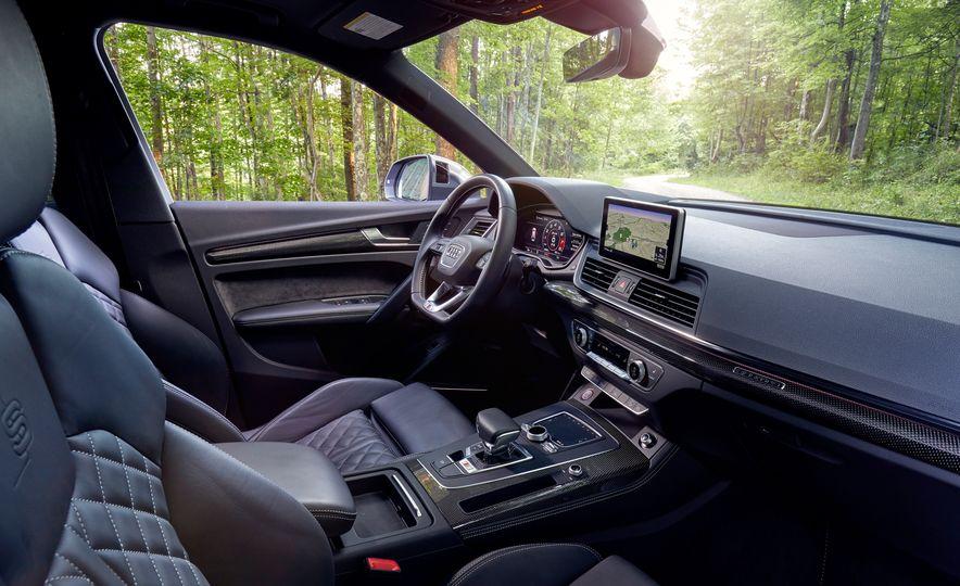 2017 Mercedes-AMG GLC43, 2018 Audi SQ5, and 2017 Porsche Macan S - Slide 12