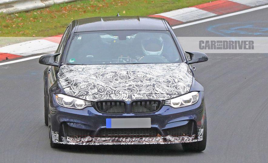 2018 BMW M3 CS (spy photo) - Slide 1