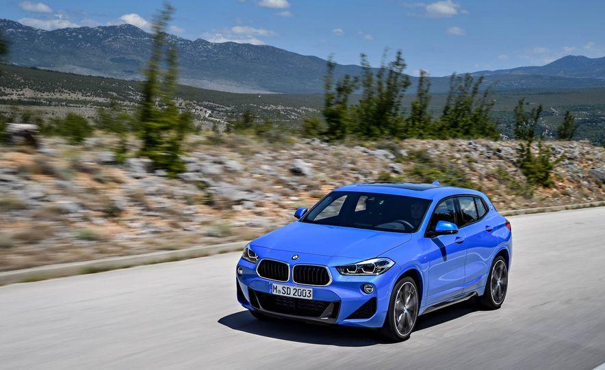 2018 BMW X2 (Euro-spec) - Slide 8