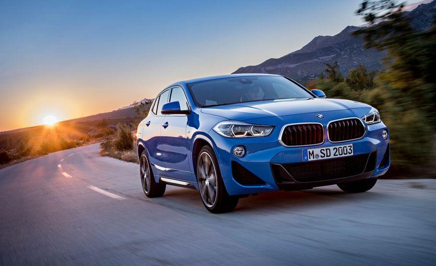 2018 BMW X2 (Euro-spec) - Slide 6