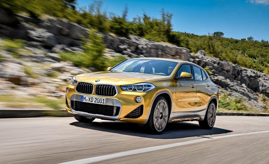 2018 BMW X2 (Euro-spec) - Slide 1