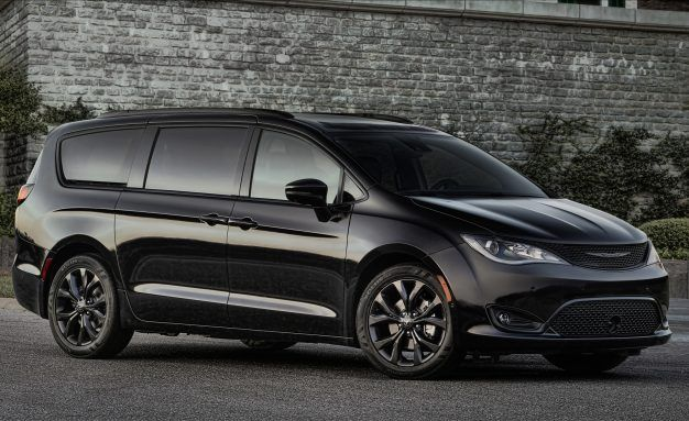 Meanivan: Chrysler Pacifica Goes Dark with New S Appearance Package