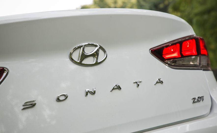 2018 Hyundai Sonata Limited - Slide 23