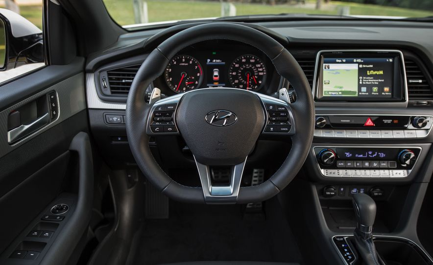 2018 Hyundai Sonata Limited - Slide 31