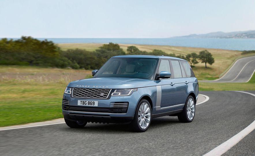2018 Range Rover (Euro-spec) - Slide 1