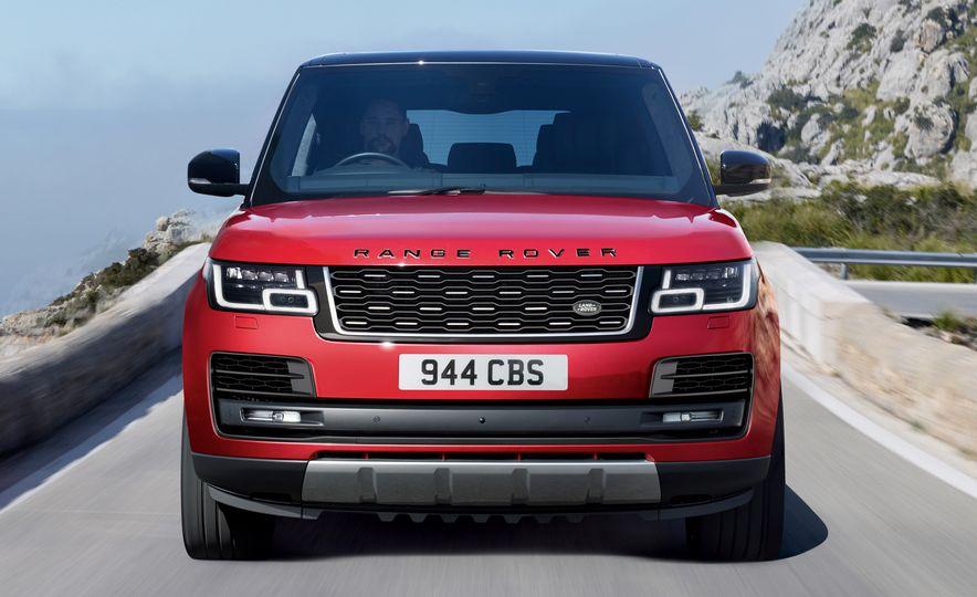 2018 Range Rover (Euro-spec) - Slide 34
