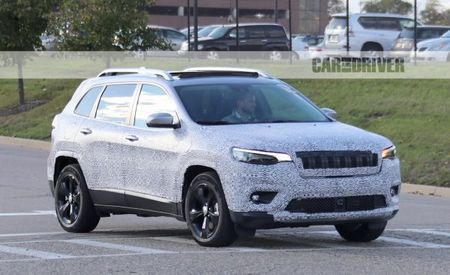 Stop Squinting: Jeep Cherokee Spied with New Look Up Front, Revised Rear
