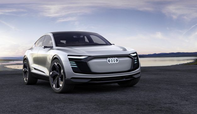 Beautiful Audi E Tron Sportback Concept. Electric Vehicles ...