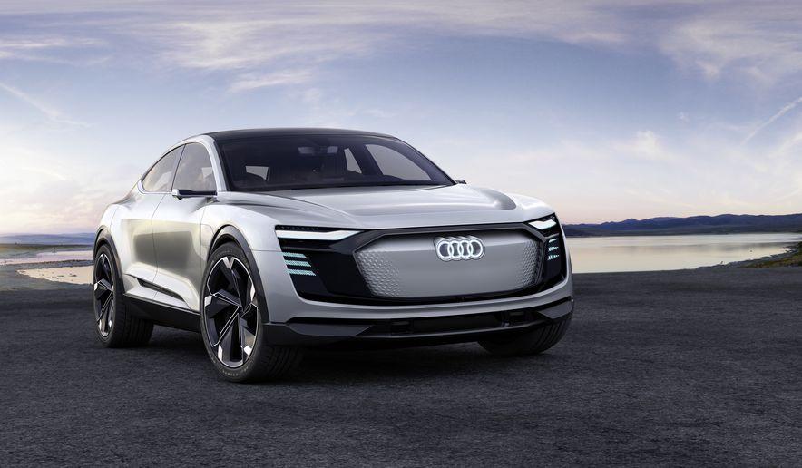 Audi e-tron Sportback concept - Slide 3