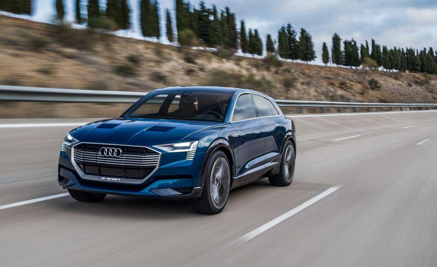 Audi e-tron Sportback concept - Slide 20