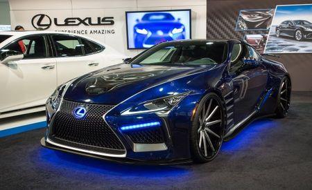 "Lexus LC500 Coupe Takes ""Black Panther"" Movie Theme for SEMA"