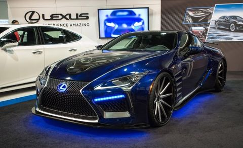 Lexus And Marvel Studios Create Custom Lc500 News Car And Driver
