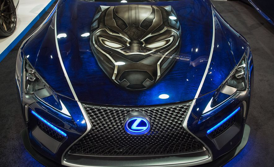 Lexus Black Panther Inspired LC concept - Slide 4