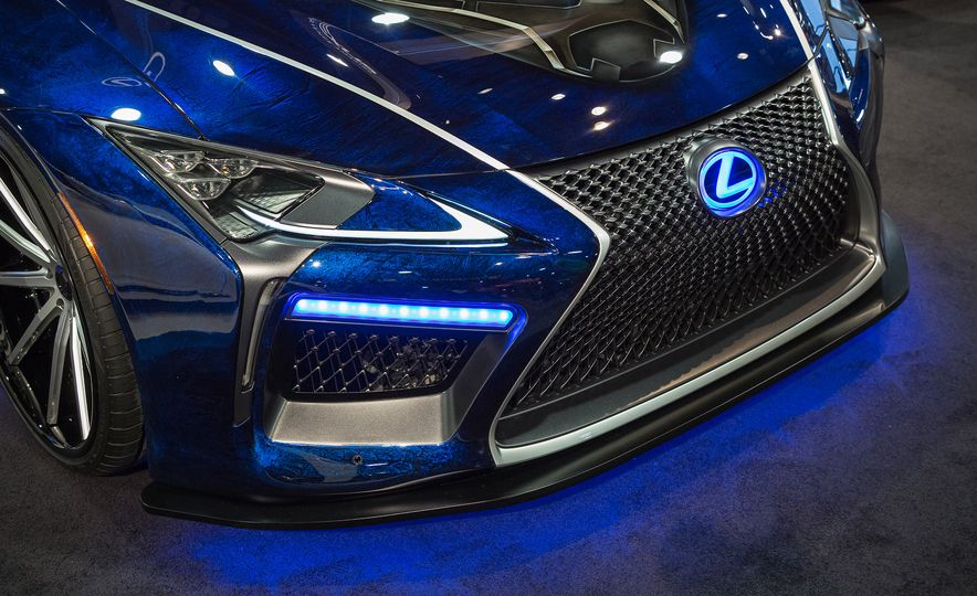 Lexus Black Panther Inspired LC concept - Slide 3