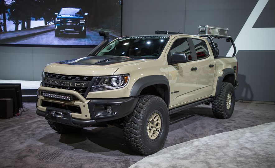 Chevrolet Colorado ZR2 AEV concept - Slide 2