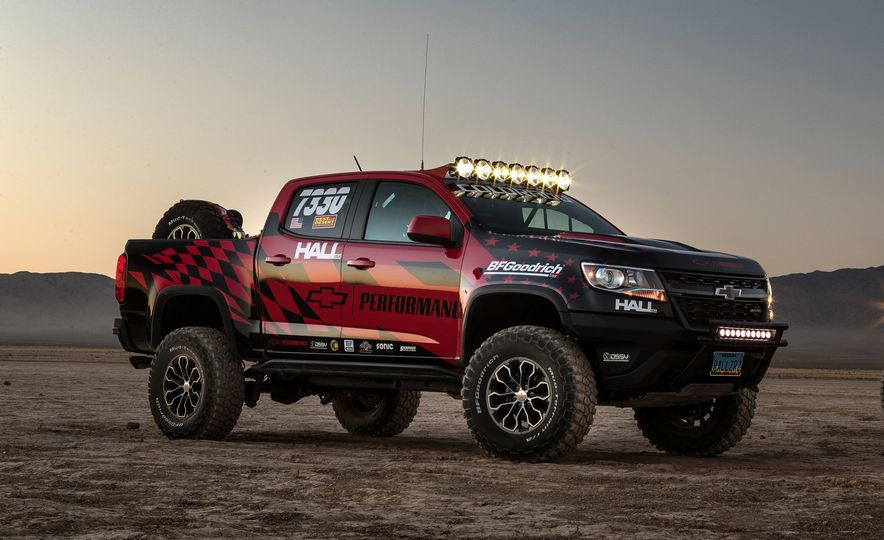Chevrolet Colorado ZR2 AEV concept - Slide 18