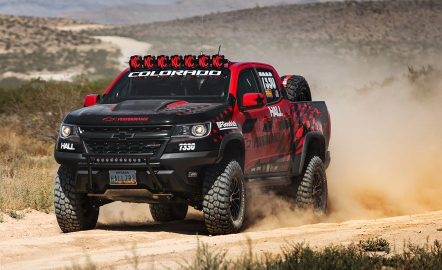 Chevrolet Colorado ZR2 AEV concept - Slide 15