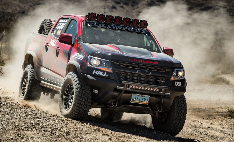 Chevrolet Colorado ZR2 AEV concept - Slide 16