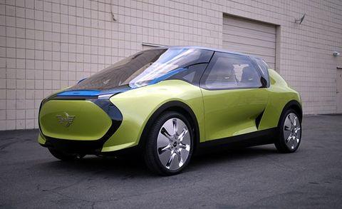 Clemson University Mini Concept Car Placement