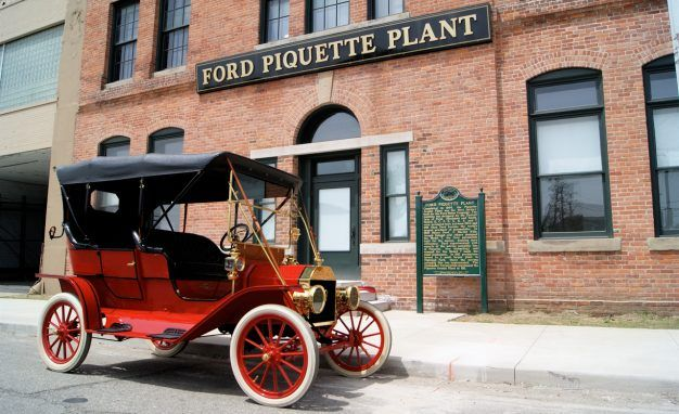 This Is the Secret Room Where the Ford Model T Was Developed
