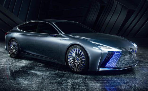 Lexus LS+ Concept Is a Flagship Focused on Automated Driving