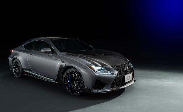 Black 'n' Blue: Lexus GS F and RC F 10th-Anniversary Specials